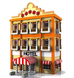 Hotel Building Cartoon - twoj doktor